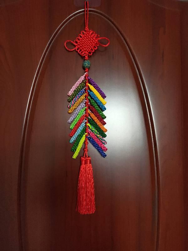 中国结论坛 一串彩色鞭炮:竹报平安  作品展示 180943v2u0j40v22jk4pul