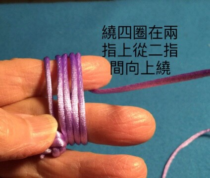 中国结论坛 猴拳結球的編織,用缐長度看線的組細約100cm左右  图文教程区 004209tk7fc10b1tvybhnb