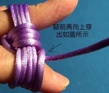 中国结论坛 猴拳結球的編織,用缐長度看線的組細約100cm左右  图文教程区 004219rsm1no3mykninmjx