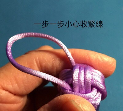 中国结论坛 猴拳結球的編織,用缐長度看線的組細約100cm左右  图文教程区 004235geuo65ginhe4czo6