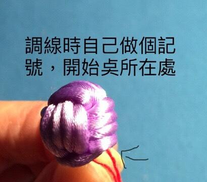 中国结论坛 猴拳結球的編織,用缐長度看線的組細約100cm左右  图文教程区 004240t80y880cwulllohz