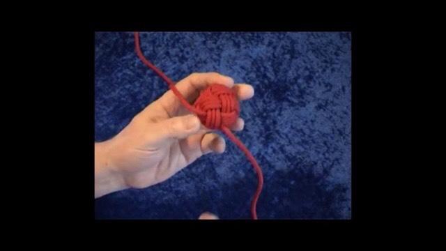 中国结论坛 簡單做球的穿法!用缐長度約200 cm  图文教程区 004418w5b5fvlzkdmltl21