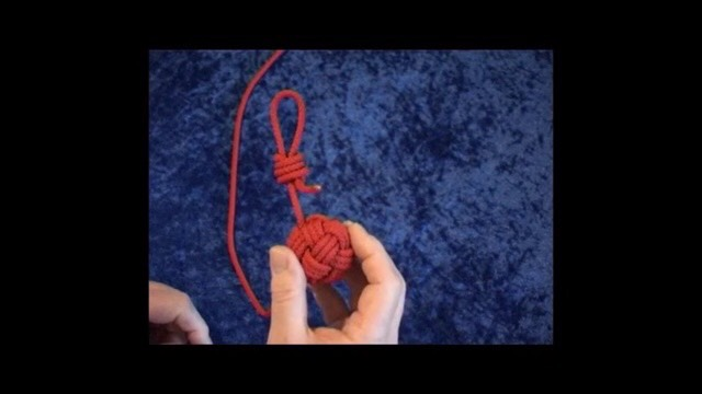 中国结论坛 簡單做球的穿法!用缐長度約200 cm  图文教程区 004423uhg4ogio4uq5b4uh