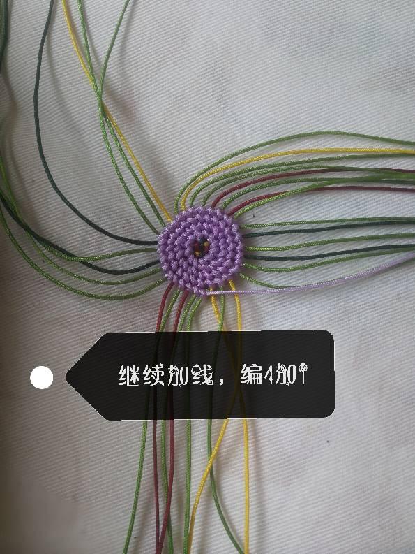 中国结论坛 仿制a2873912大神的葫芦,另附详细图解(紫色线不够用,接了一节果绿,不喜勿喷)  图文教程区 213432taiplz0e6ktelij6