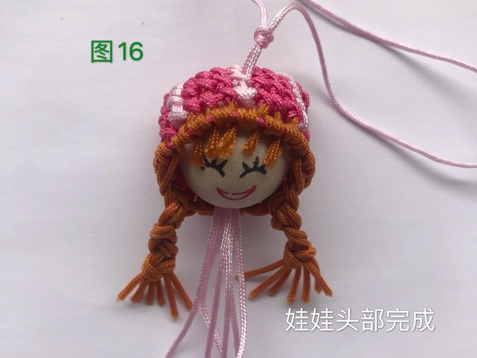 中国结论坛 戴帽子的女娃娃教程  图文教程区 133117wi76dgfa7gkcf6oi
