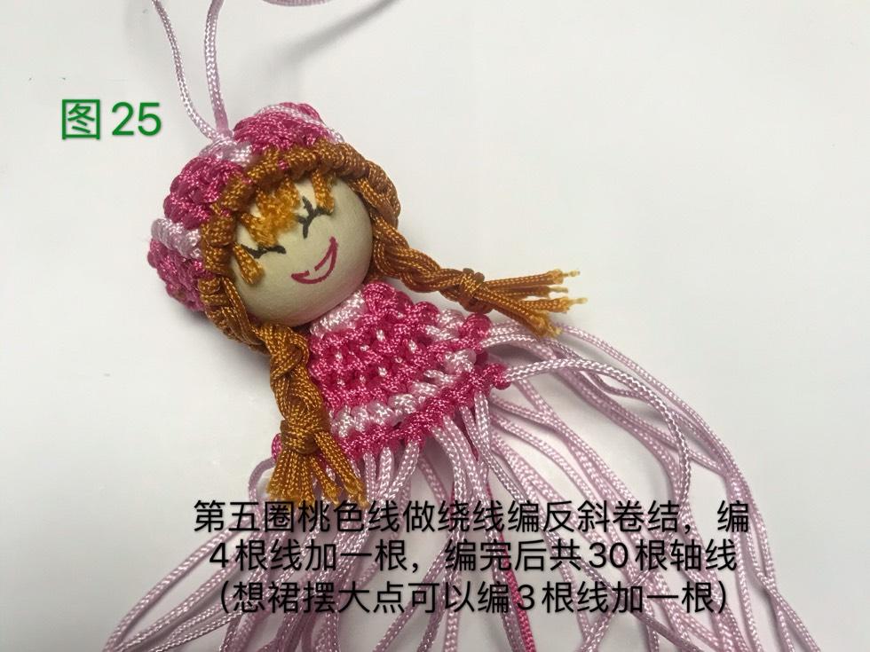 中国结论坛 戴帽子的女娃娃教程  图文教程区 133149d4hq3kdqd36c33qr