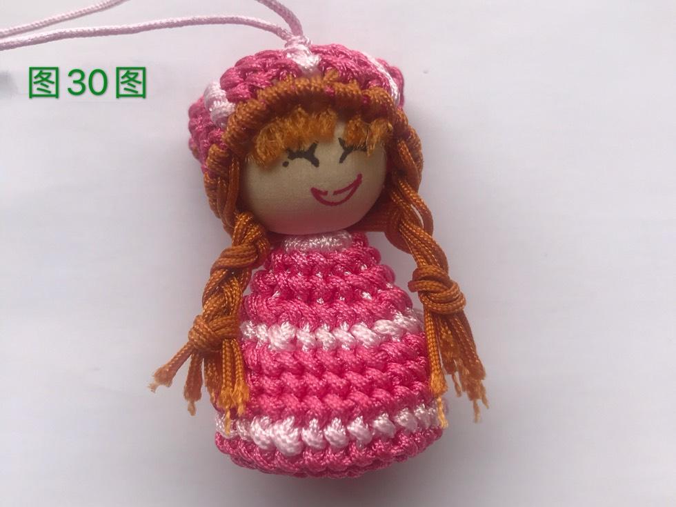 中国结论坛 戴帽子的女娃娃教程  图文教程区 133203blfllc5fu5rslokg