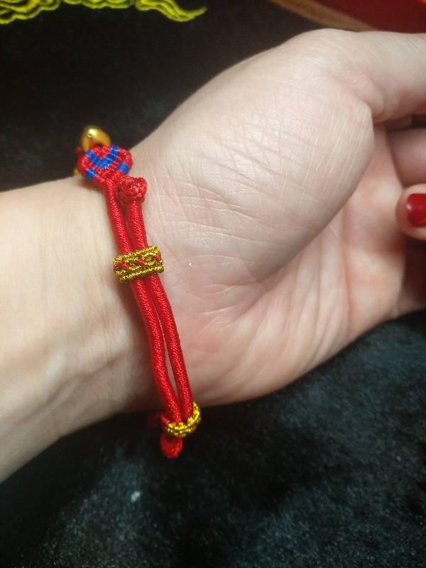 中国结论坛 五彩蛇结转运珠手链  作品展示 005451lnf3i2fn932f2c9o
