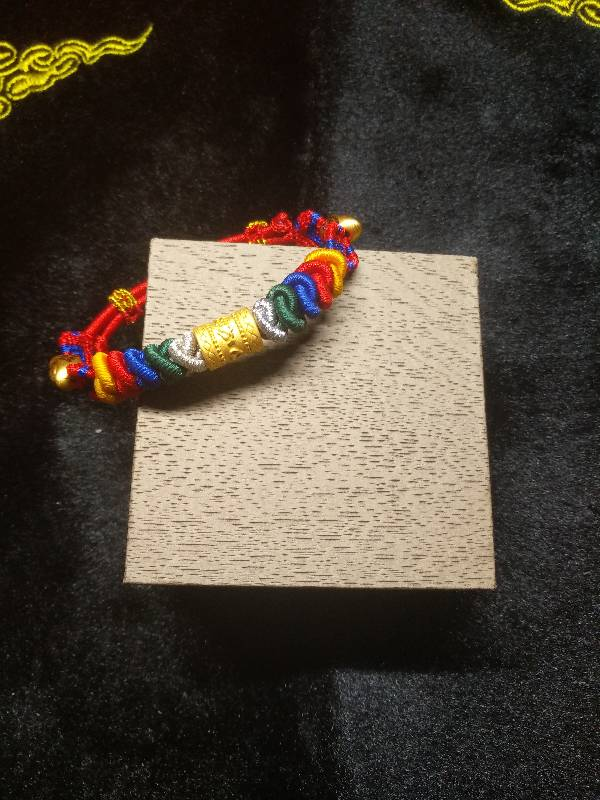 中国结论坛 五彩蛇结转运珠手链  作品展示 005514ii612t6peiev3260