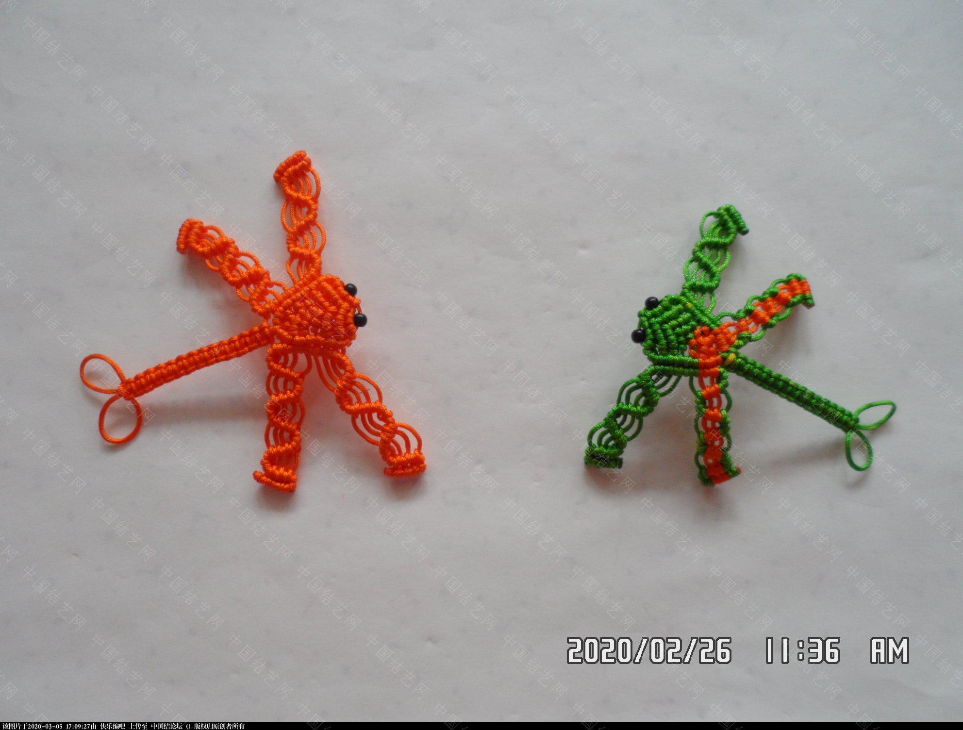 中国结论坛 一款蜻蜓书签的编法 —— 四种基本结组合练习 教程,最好的,珠子,方便,书中 图文教程区 143052bt7t2h97b92bhhlu