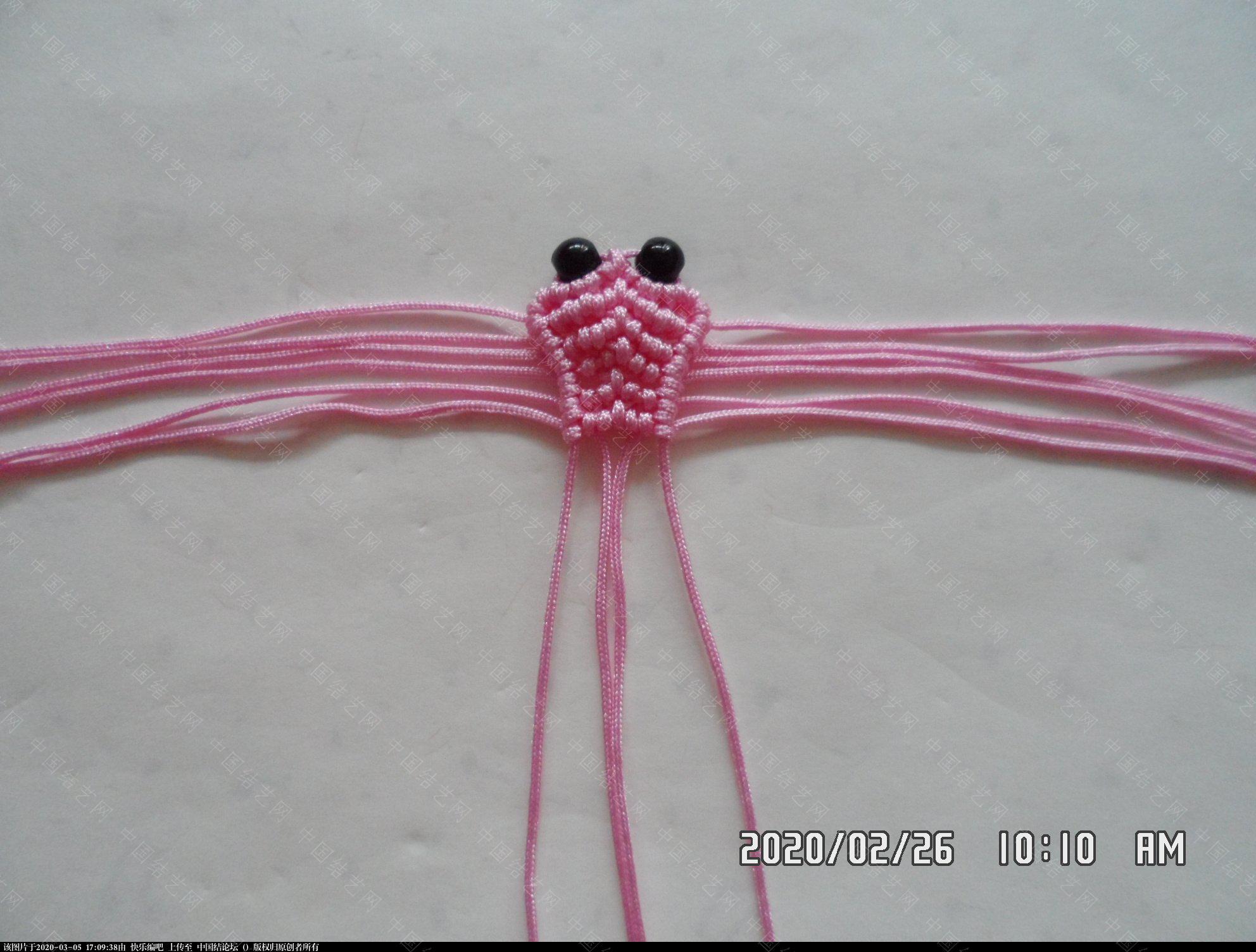 中国结论坛 一款蜻蜓书签的编法 —— 四种基本结组合练习 教程,最好的,珠子,方便,书中 图文教程区 145000jc03qjw0fpp50avc
