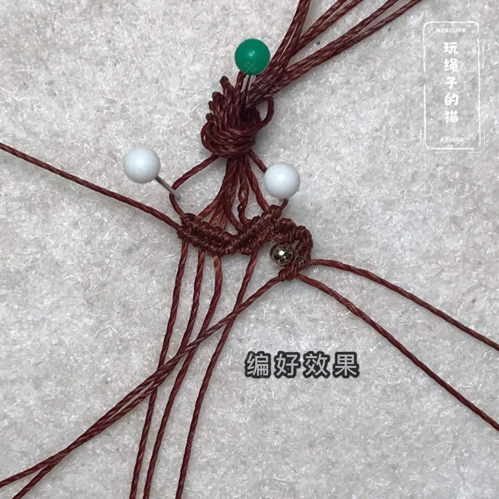 中国结论坛 Macrame手链 太阳光芒手链(图文教程) 手链,教程,凯尔特结各种含义,凯尔特心结手链,凯尔特心形手链 图文教程区 162854tpdyxuszwddxsdn7