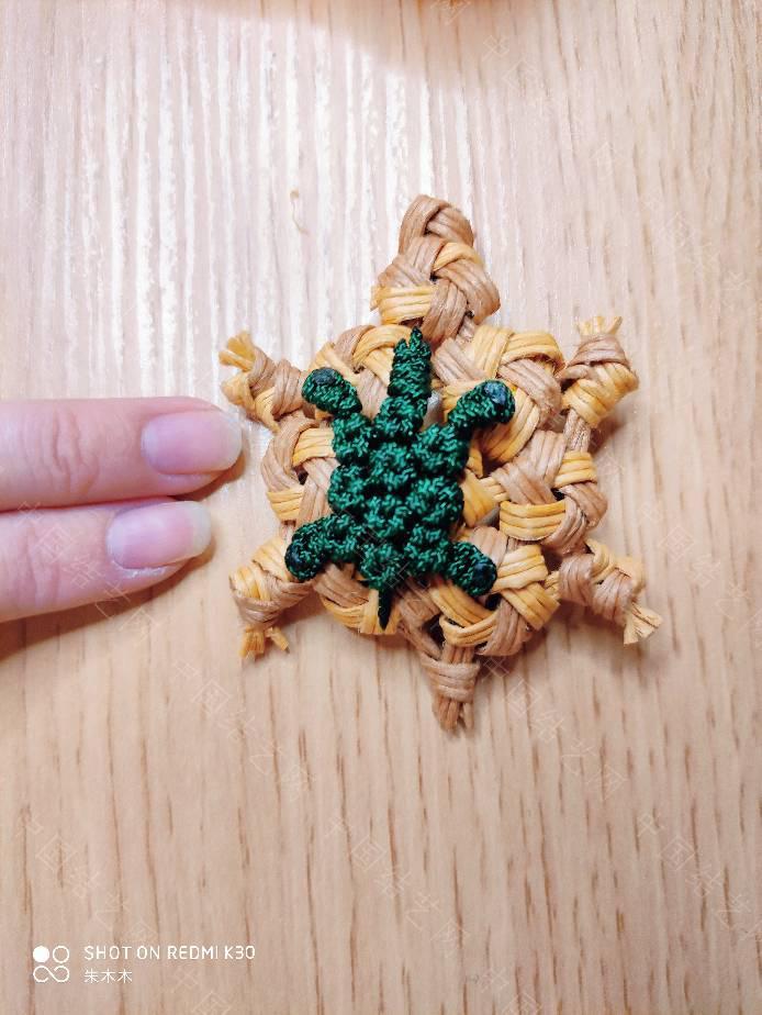 中国结论坛 六瓣花结做的龟龟,六边形还挺合适的 合适的,六边形,做的,合适,还挺 作品展示 093409mcud4wc4z0uiw474