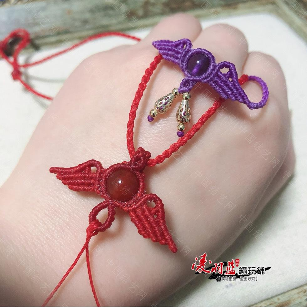 中国结论坛 小天使手链  作品展示 181444ta3i1bamc4avohoi