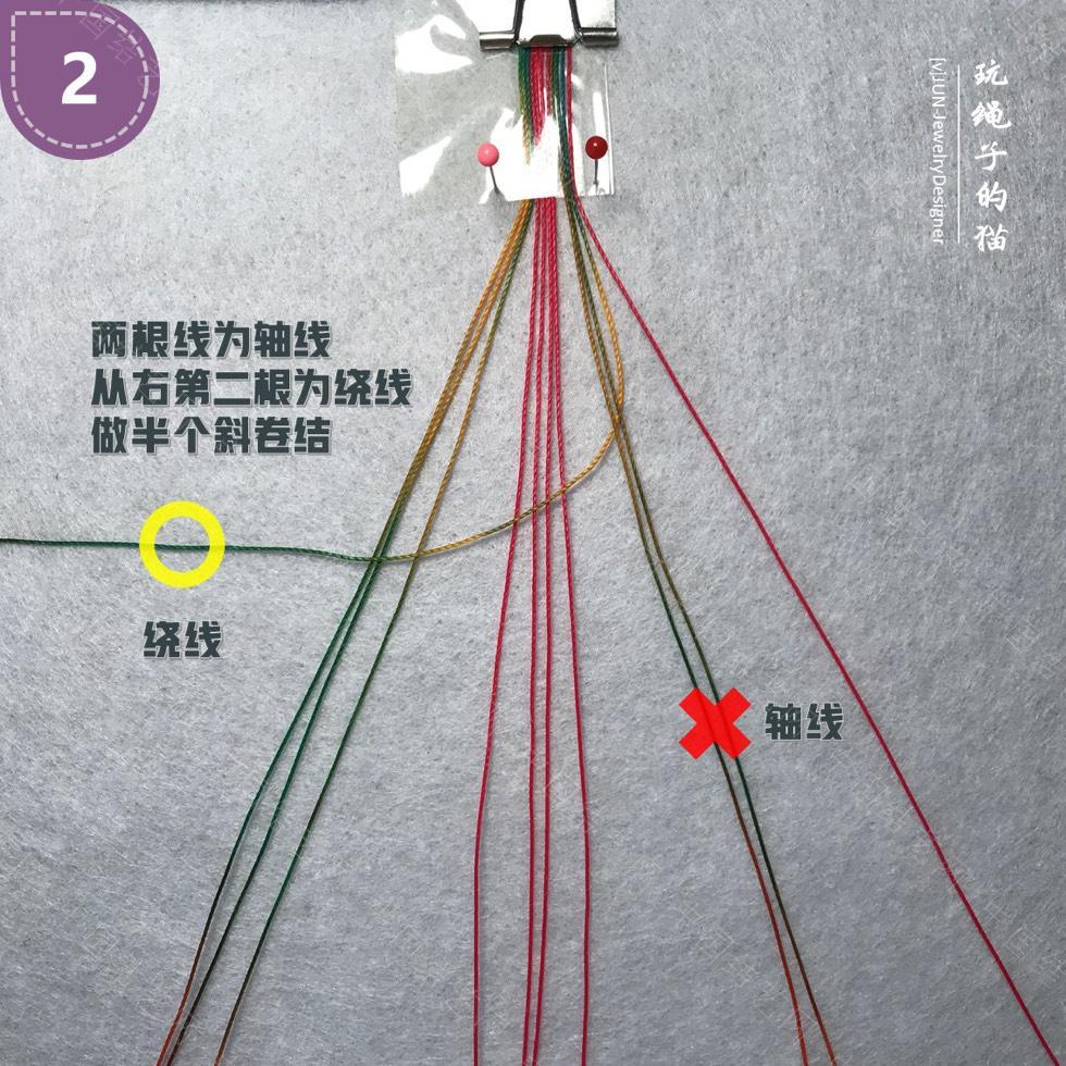 中国结论坛 Macrame挂绳 回纹图案挂绳/手链(图文教程)  图文教程区 200133hquy978mf82e9n98