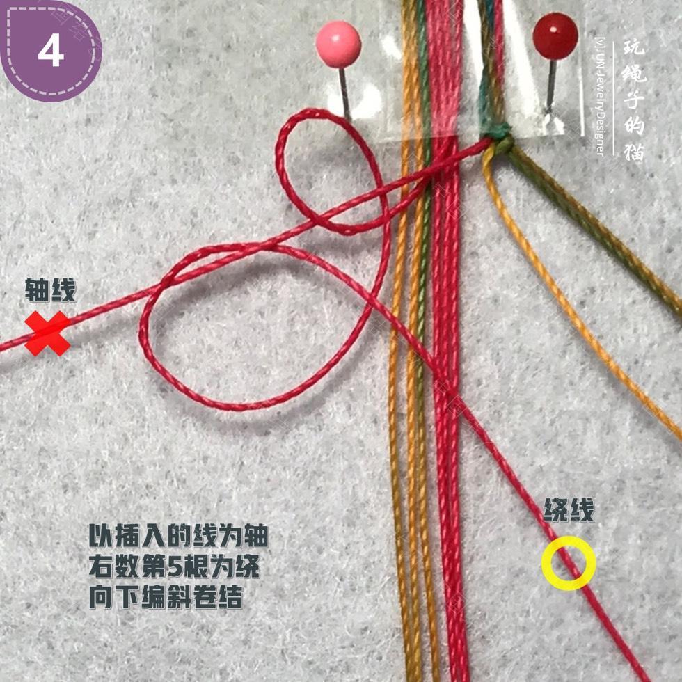 中国结论坛 Macrame挂绳 回纹图案挂绳/手链(图文教程)  图文教程区 200135yy5m69mj5ynhknrg
