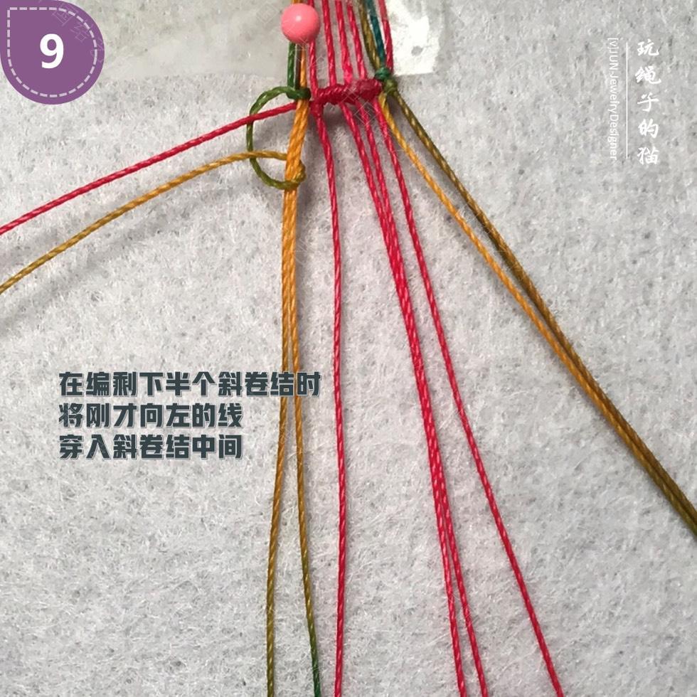 中国结论坛 Macrame挂绳 回纹图案挂绳/手链(图文教程)  图文教程区 200139jwd9wnytywvunzww