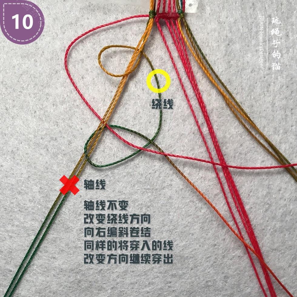中国结论坛 Macrame挂绳 回纹图案挂绳/手链(图文教程)  图文教程区 200140wp32c7pf87j2afed