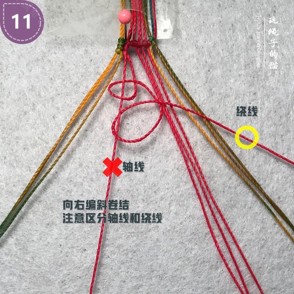 中国结论坛 Macrame挂绳 回纹图案挂绳/手链(图文教程)  图文教程区 200141wkln7205v5kfr0nf