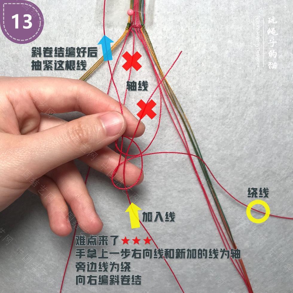 中国结论坛 Macrame挂绳 回纹图案挂绳/手链(图文教程)  图文教程区 200142n0ec4bx34zgzb4xx