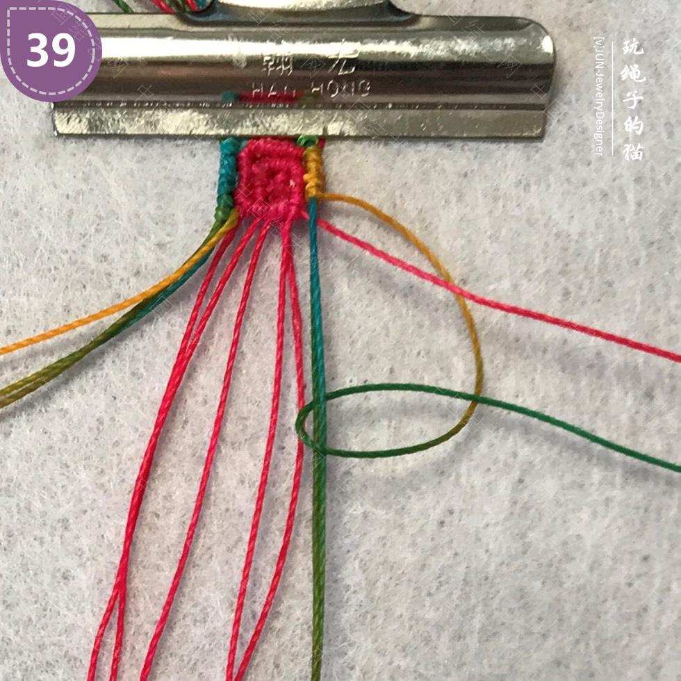 中国结论坛 Macrame挂绳 回纹图案挂绳/手链(图文教程)  图文教程区 200202s6zg1h9x6k9hhyo1