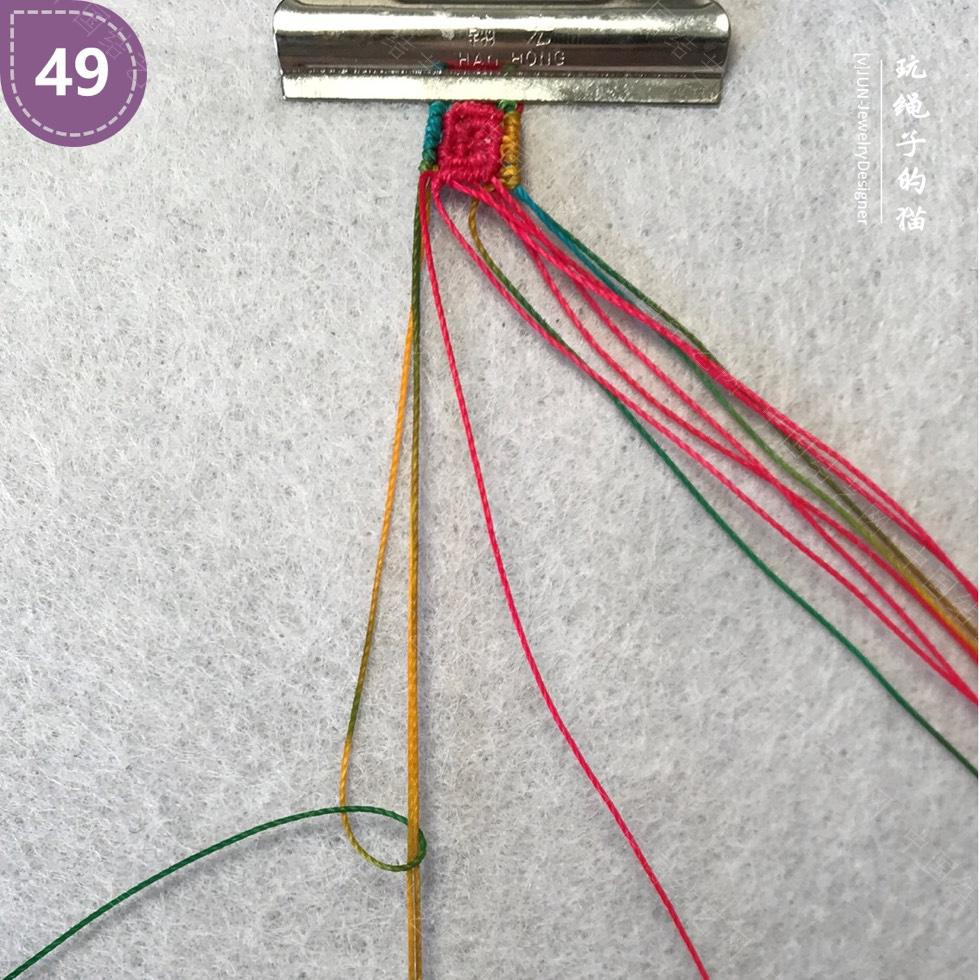 中国结论坛 Macrame挂绳 回纹图案挂绳/手链(图文教程)  图文教程区 200208rg2rllvrnfagl0ro