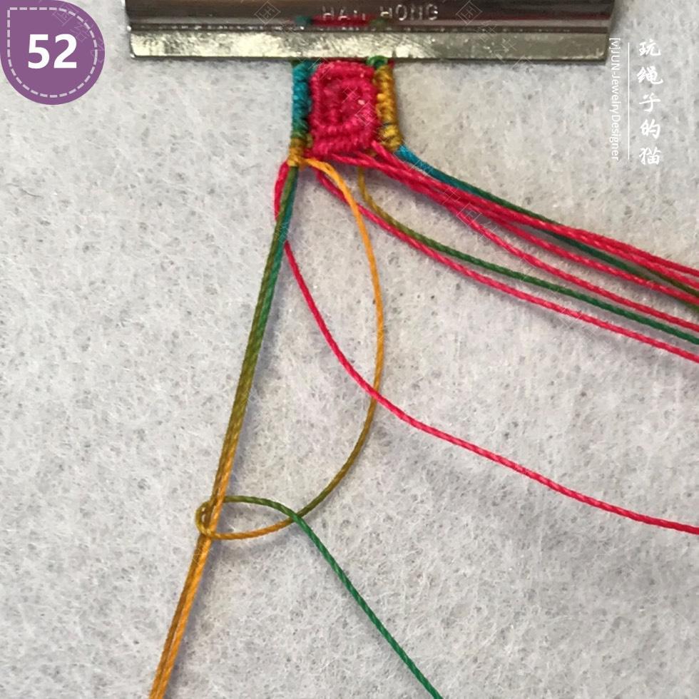 中国结论坛 Macrame挂绳 回纹图案挂绳/手链(图文教程)  图文教程区 200210y86zxbdrvxbd3xv8
