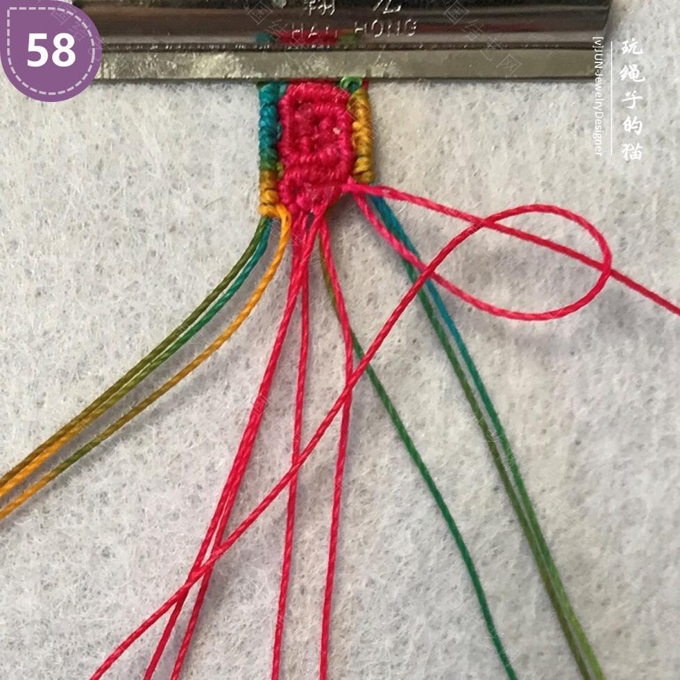 中国结论坛 Macrame挂绳 回纹图案挂绳/手链(图文教程)  图文教程区 200214pqhk7ynm733ky7ay