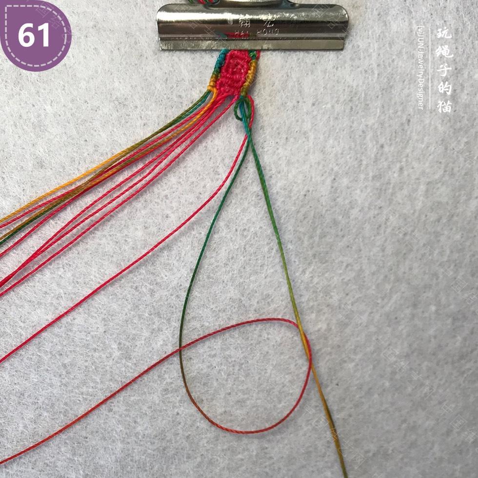 中国结论坛 Macrame挂绳 回纹图案挂绳/手链(图文教程)  图文教程区 200217fmbb3f3wx9993m99