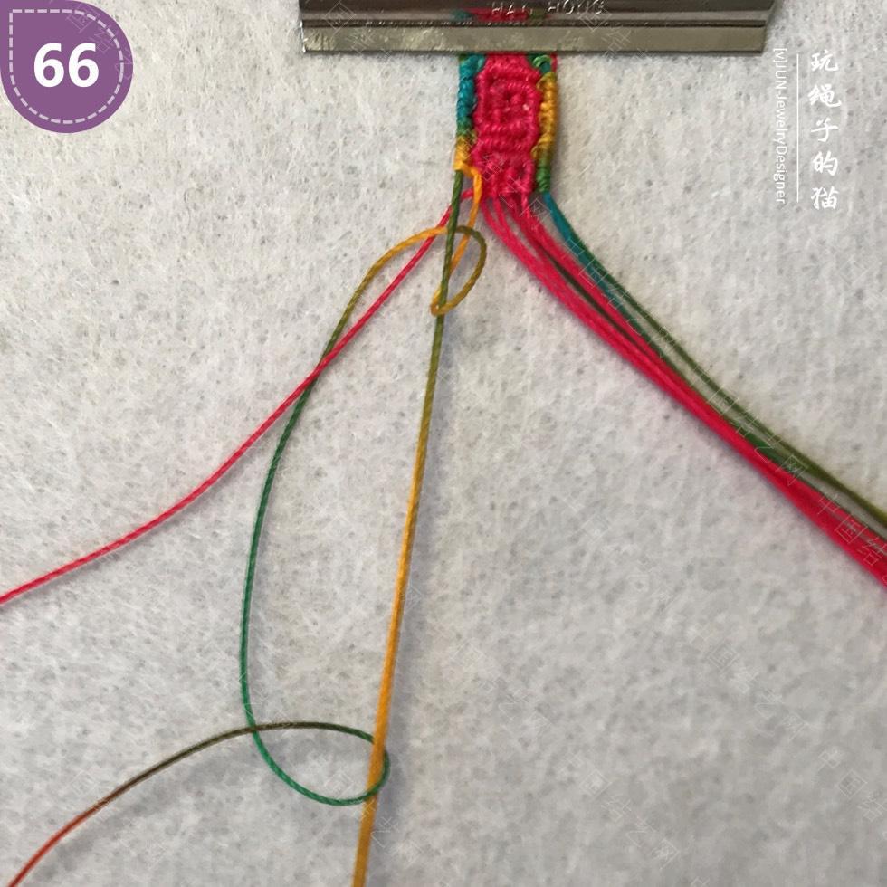中国结论坛 Macrame挂绳 回纹图案挂绳/手链(图文教程)  图文教程区 200220ilh6taaagv4hb6vf