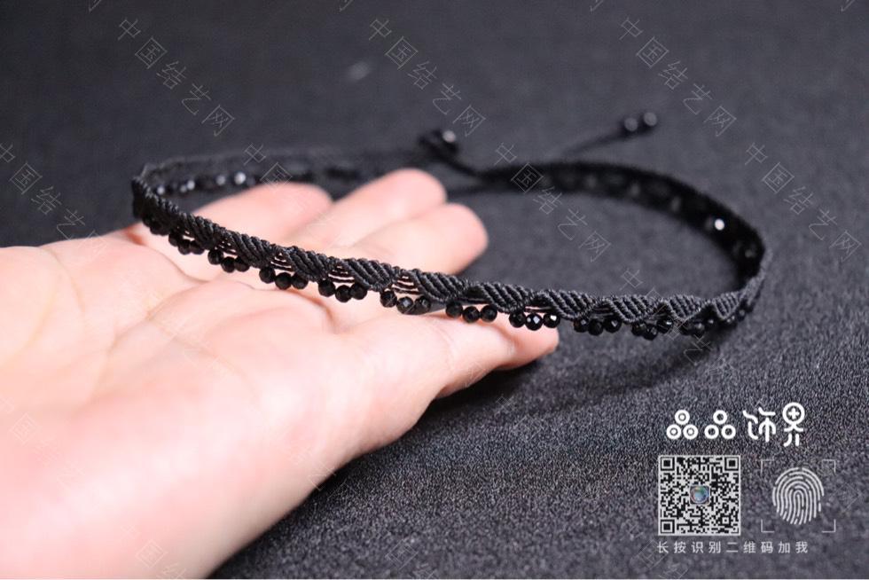 中国结论坛 黑尖晶锁骨链(教程已发)  作品展示 232907miil3yi4rggkg3nl