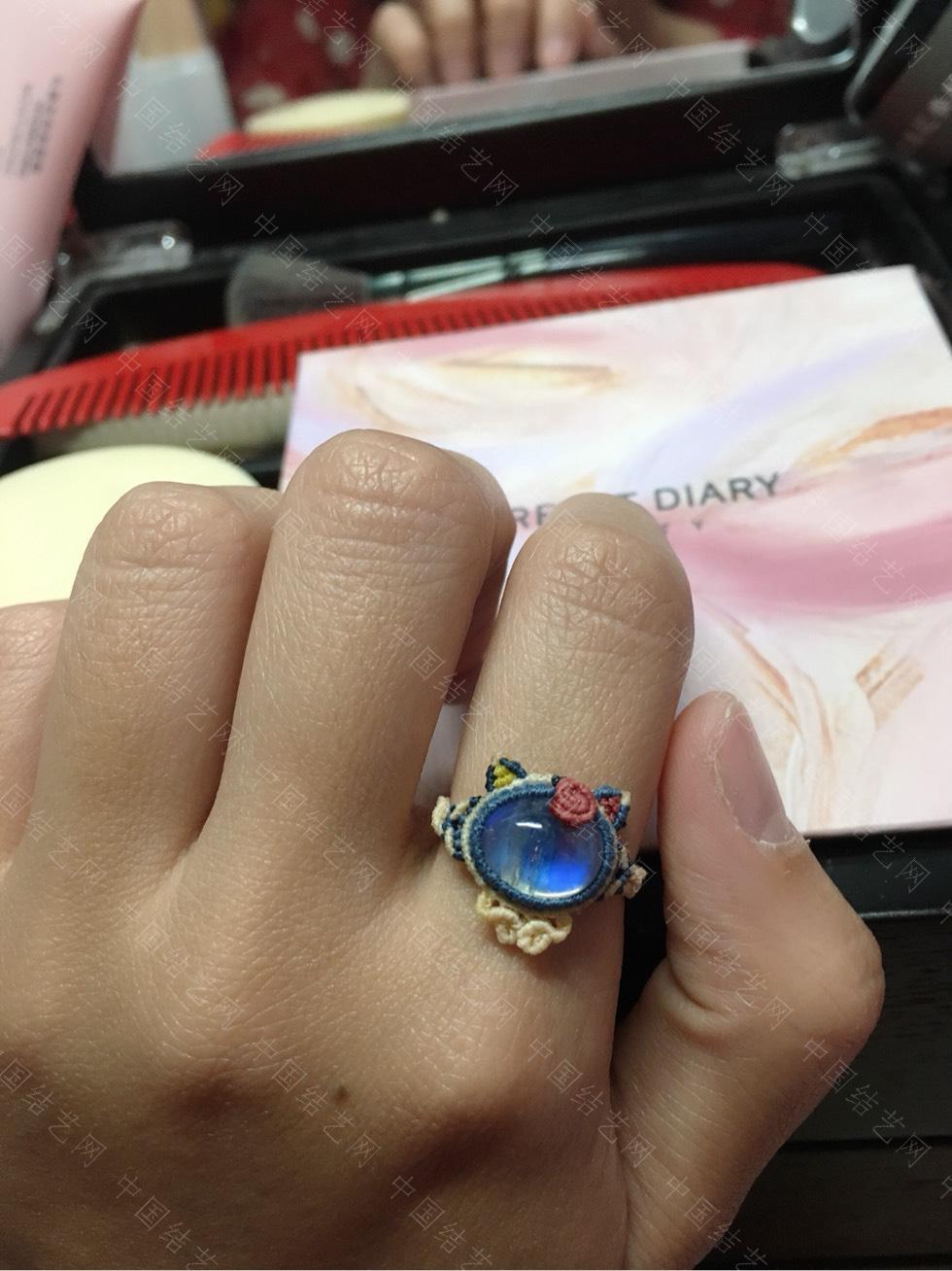 中国结论坛 做了个小戒指  作品展示 143706b5pspj1ampd5pnu5
