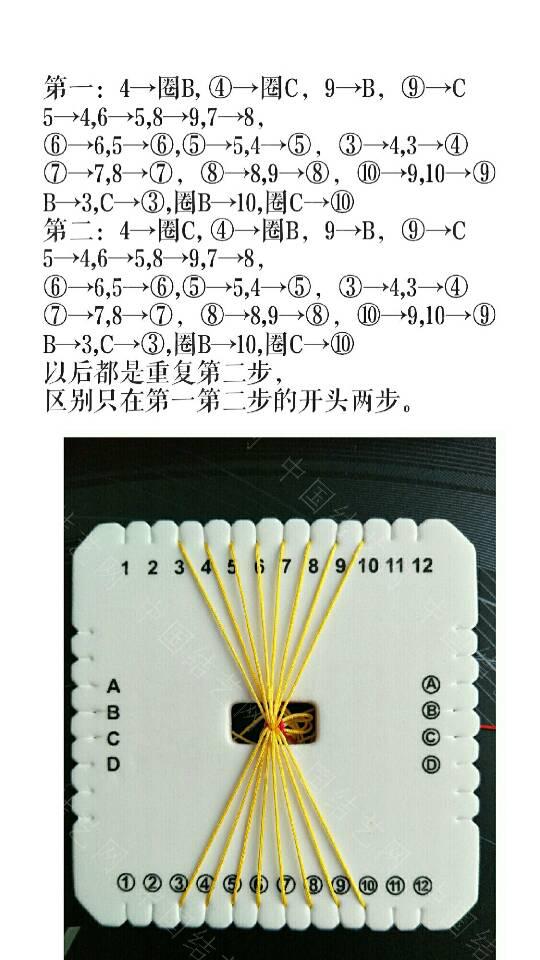 中国结论坛 方形盘编手链  图文教程区 195253rg25d22f555zaqd2