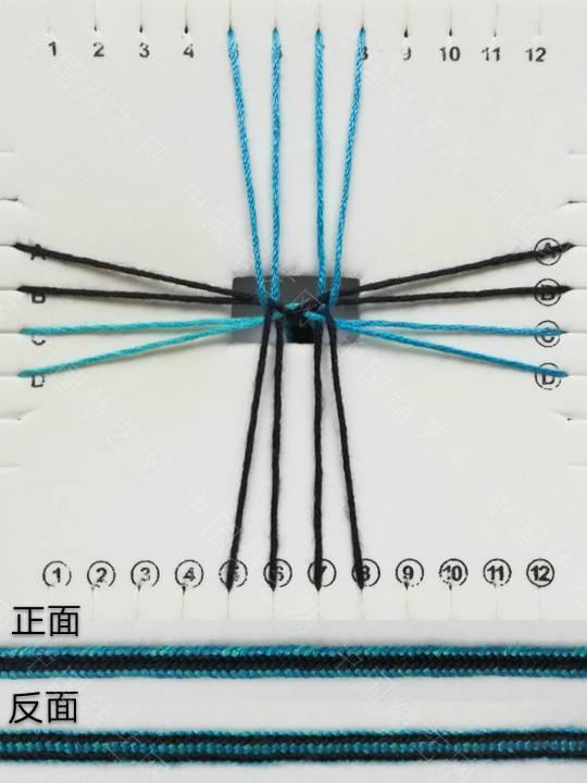 中国结论坛 方形盘编:方盘十六股编 方盘,方形,十六 图文教程区 090054wixnk4ioued4s2qu