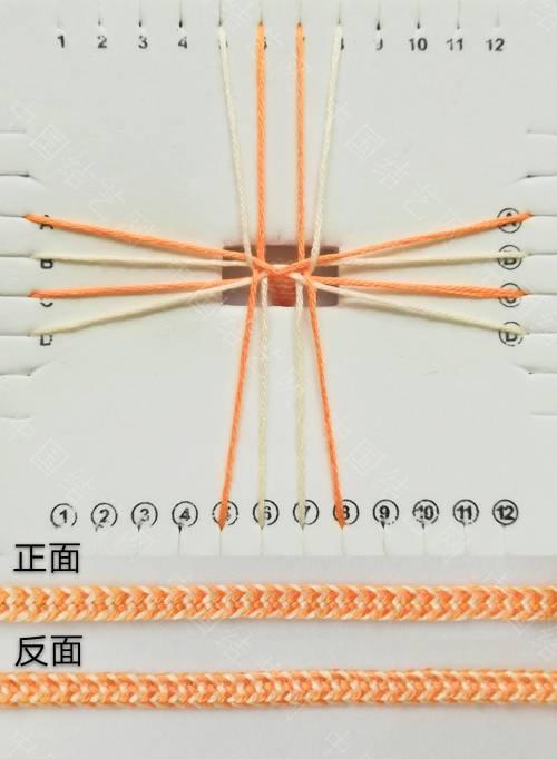 中国结论坛 方形盘编:方盘十六股编 方盘,方形,十六 图文教程区 090055am44pffppx0c2rcp