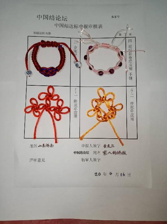 中国结论坛 家人的骄傲---初级达标申请稿件 申请,稿件,达标,初级,骄傲 中国绳结艺术分级达标审核 200701dxq5jhx3x9t53m3e