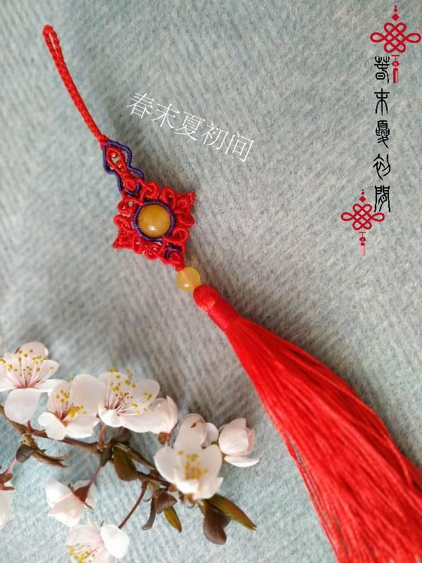 中国结论坛 《三笙》压襟挂件 挂件 作品展示 100338u6ndys4rww6dws0o