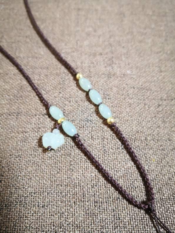 中国结论坛 实用项链系列 珍珠一个一个打结图解 作品展示 110121rwzesnz8i3yzkwwa