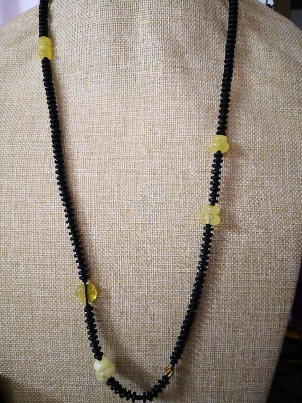 中国结论坛 实用项链系列 珍珠一个一个打结图解 作品展示 110122o1hoph026u0hcann