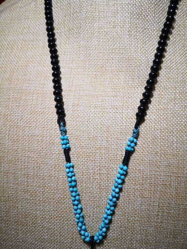 中国结论坛 实用项链系列 珍珠一个一个打结图解 作品展示 110126rl0hn0dvlne44yar