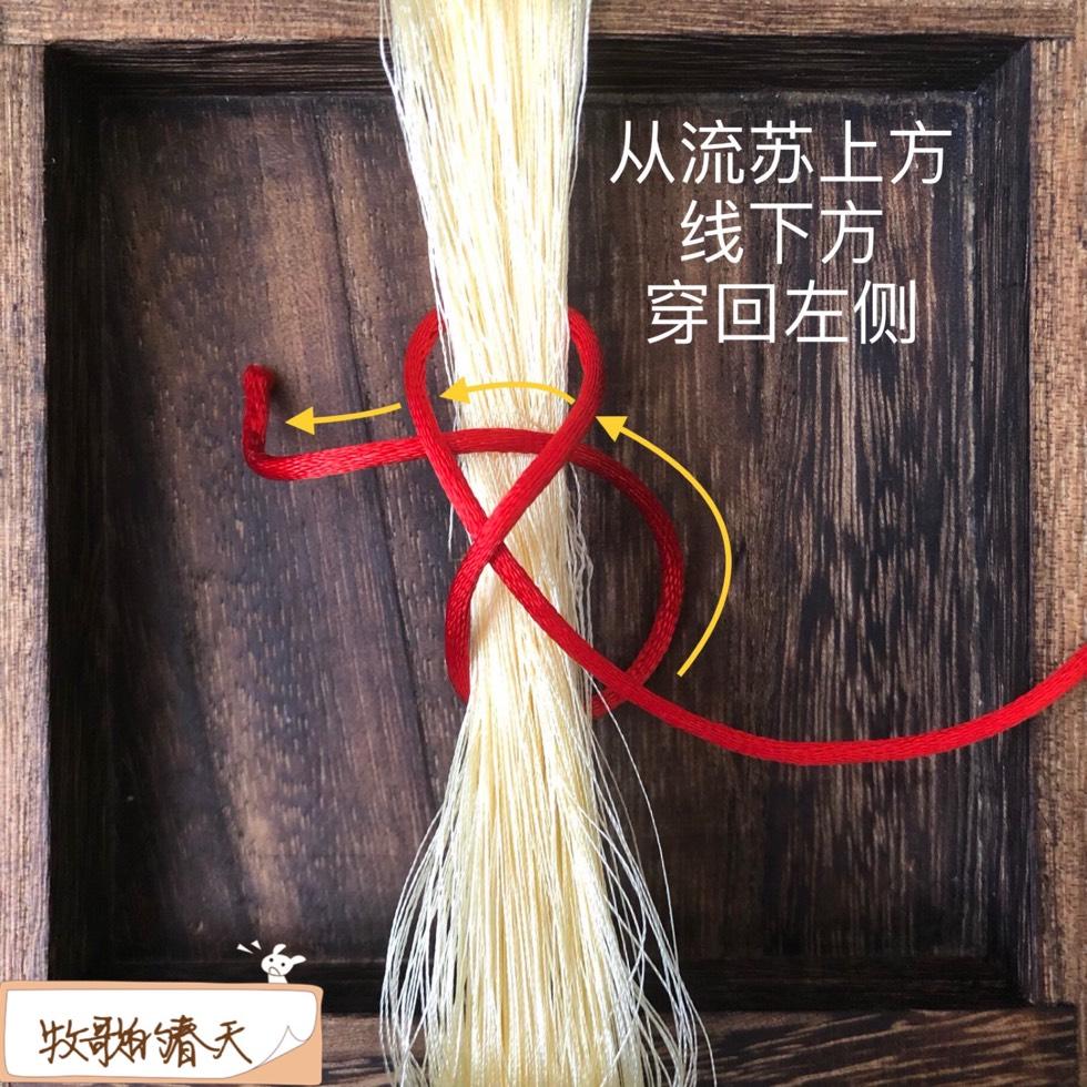 中国结论坛 绑紧流苏的方法 挂件流苏打结方法,流苏挂绳怎么系,如何把流苏接到手串上,穗子怎么绑到中国结上,印章如何挂流苏 图文教程区 143353gk0bb8nyr9zn3gyb