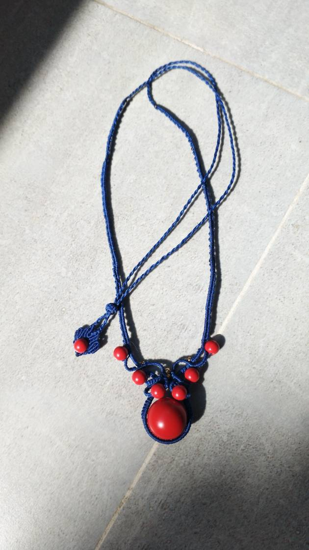 中国结论坛 朱砂珠子的这个小珠子有点大,将就弄了个,都是学的! 朱砂,珠子,这个,将就,了个 作品展示