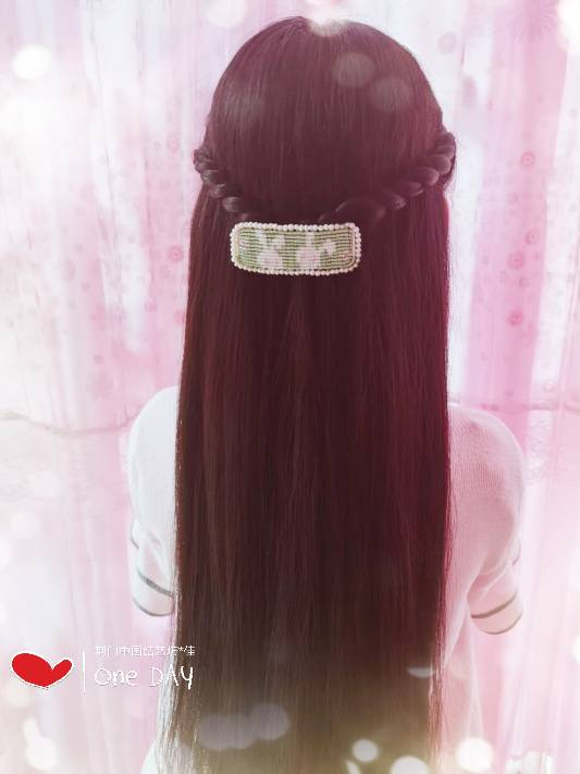 中国结论坛 小白兔珍珠发夹教程已做好  作品展示 174843obpdufowalzdb8f6