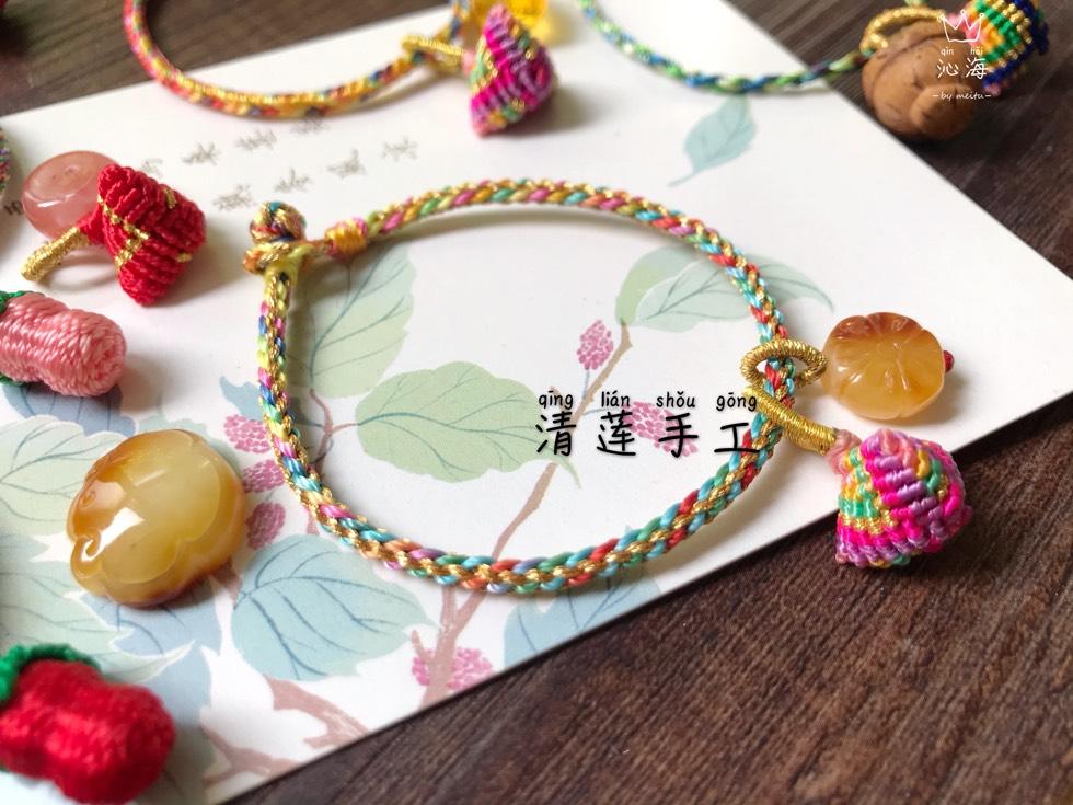 中国结论坛 新编的端午节手绳  作品展示 181210l1mjz76uzchmm4hs