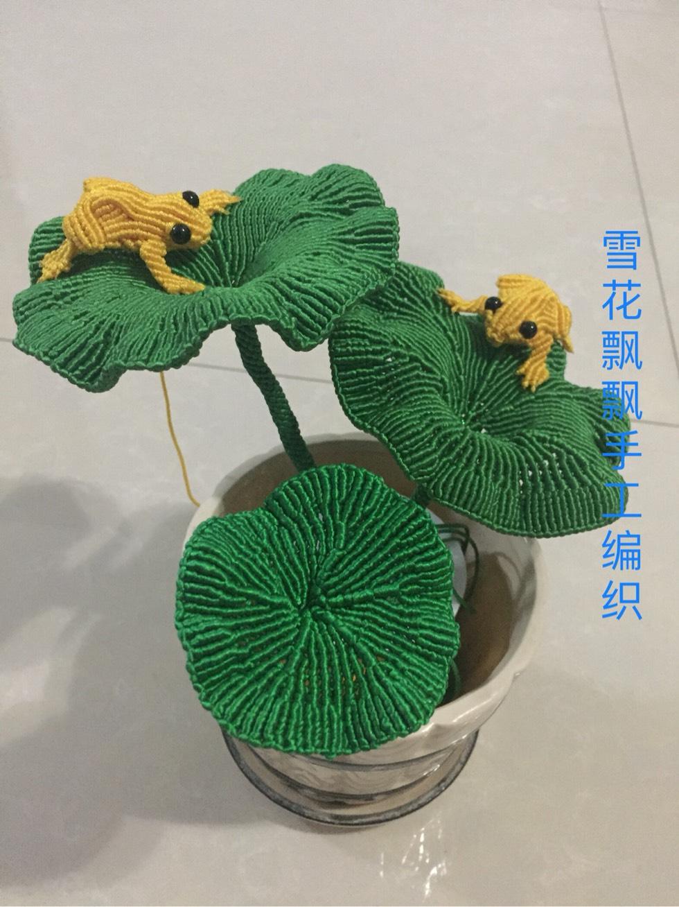 中国结论坛 自己创编的荷叶 荷叶,创编,自己 作品展示 000525tpkovp6omimu5vrv