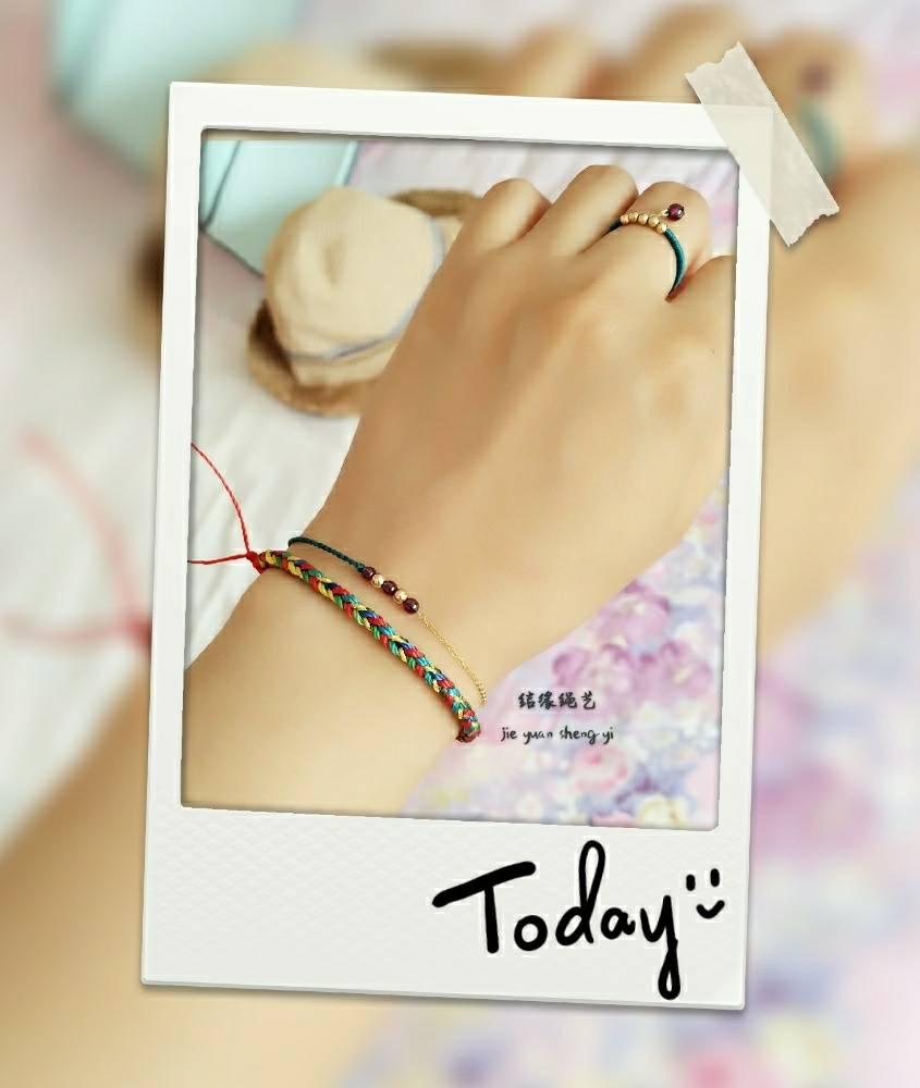 中国结论坛 五彩绳 五彩绳大人可以戴吗,五彩绳可以随意戴吗,二十四种手链编法,戴五色线的禁忌 作品展示