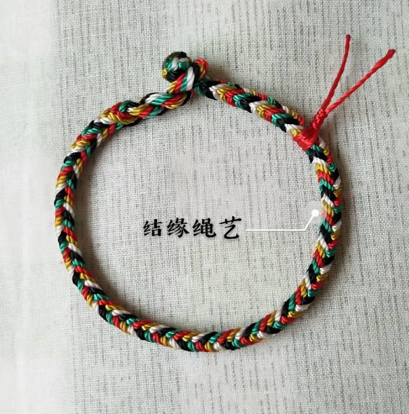 中国结论坛 五彩绳 五彩绳大人可以戴吗,五彩绳可以随意戴吗,二十四种手链编法,戴五色线的禁忌 作品展示 055434hxbnm930b0nximcn