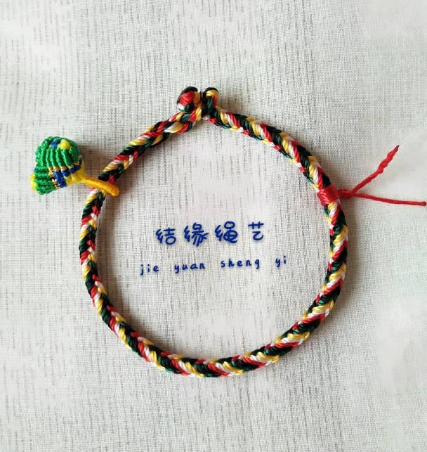 中国结论坛 五彩绳 五彩绳大人可以戴吗,五彩绳可以随意戴吗,二十四种手链编法,戴五色线的禁忌 作品展示 055435kzoenb90ont51eaf