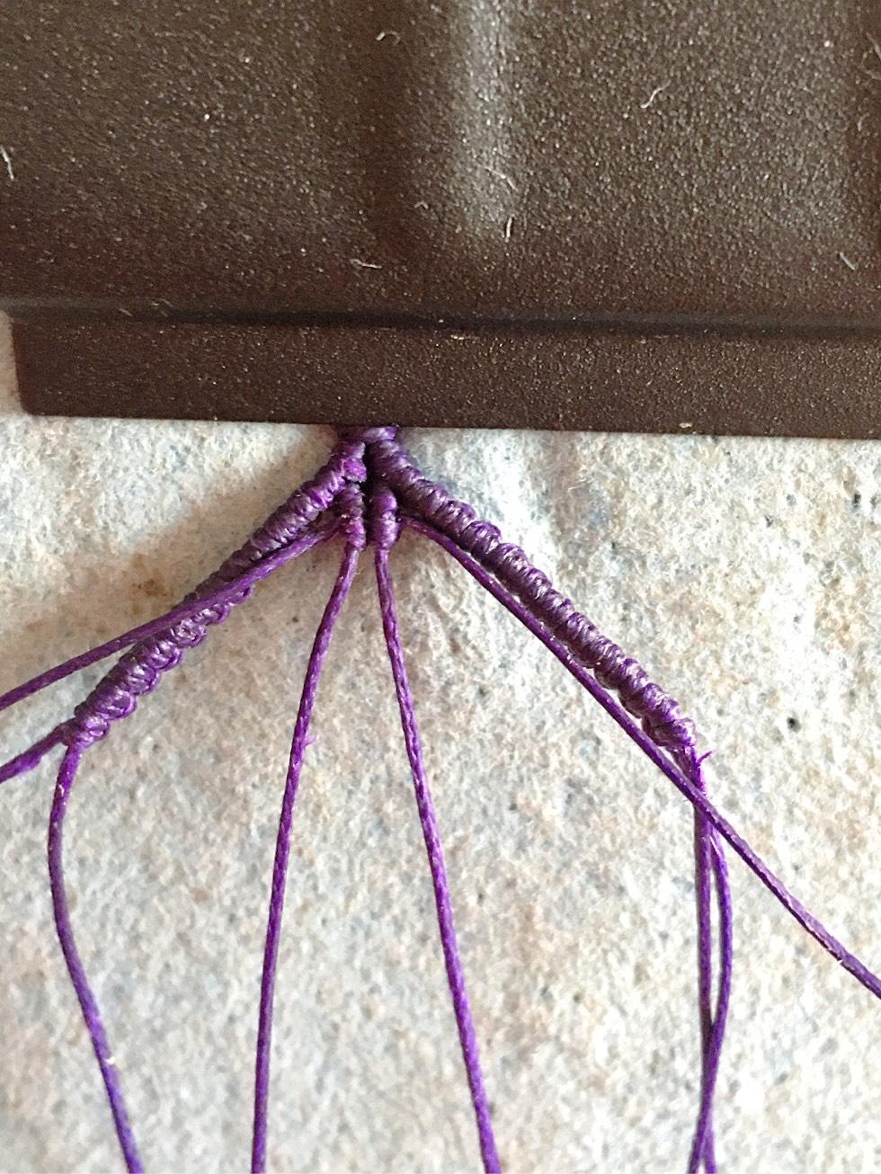 中国结论坛 项链绳中间过渡 两端抽拉的绳结怎么打,一根线穿吊坠打结方法,二根绳子各种编法图解 图文教程区 142657c1nyi1s6kkgyznyj