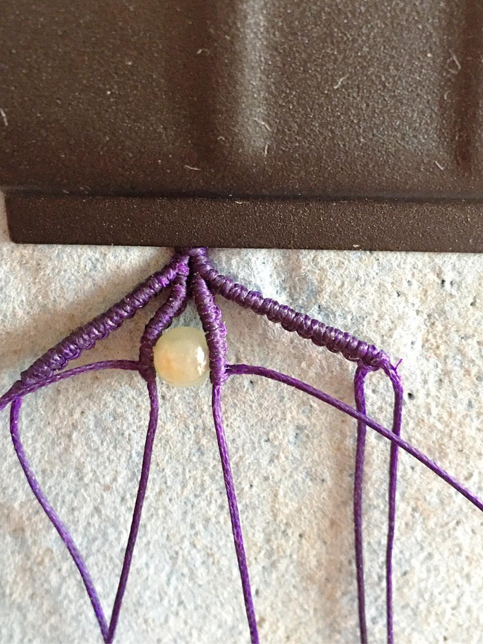 中国结论坛 项链绳中间过渡 两端抽拉的绳结怎么打,一根线穿吊坠打结方法,二根绳子各种编法图解 图文教程区 142705bb4jzbjazjaxmg1b